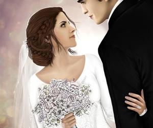 kristen stewart, robert pattinson, and wedding image