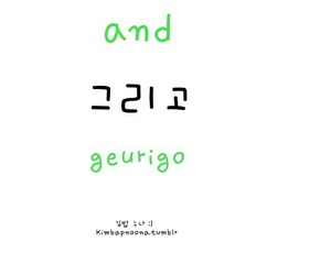 korean, romanization, and learn image