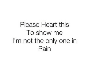 pain, sad, and heart image