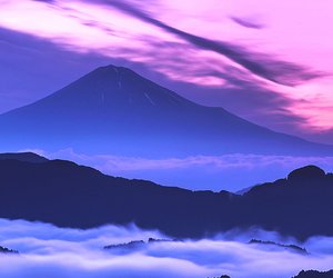 clouds, mountains, and nature image