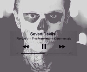 american horror story, seven devils, and tate langdon image