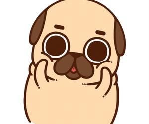 dog, pugs, and cute image
