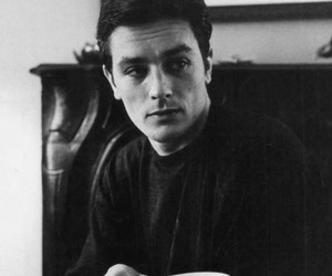 Alain Delon, french, and vintage image