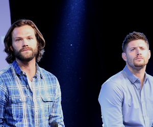 dean winchester, jared padalecki, and Jensen Ackles image