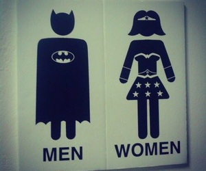 woman, men, and batman image