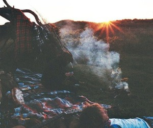 indie, sun, and hippie image