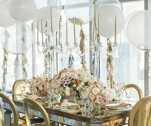balloon, chic, and decor image