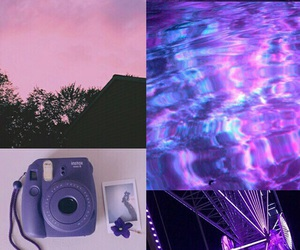 lockscreen and purple image