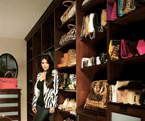 bag, closet, and kim kardashian image