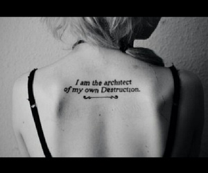 tattoo, architect, and quote image