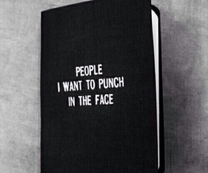 book, people, and punch image