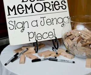 wedding, memories, and ideas image