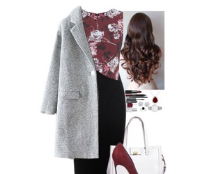 black, blouse, and Polyvore image