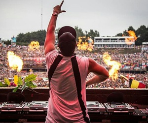 Tomorrowland and afrojack image