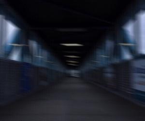blue, theme, and dark image