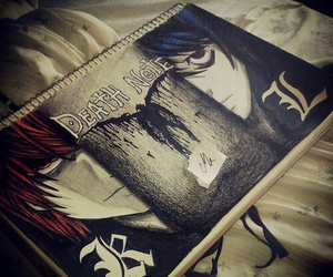 death note and L image