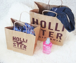 hollister, fashion, and shopping image