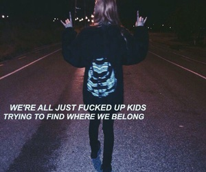 grunge, quotes, and kids image