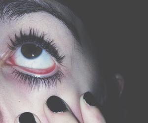 grunge, black, and eye image