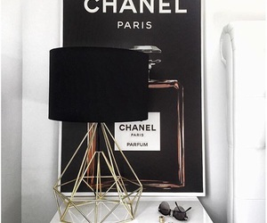 tumblr, chanel, and gold image