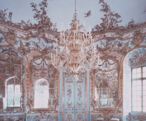 baroque, candles, and chateau image