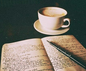 enjoy, book and coffee, and little things image