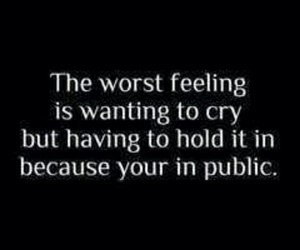 cry, public, and feeling image
