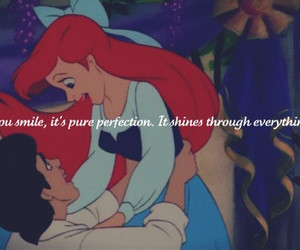 ariel, blue, and dancing image