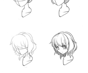 anime, dibujo, and draw image