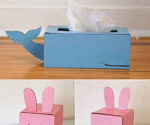 diy, box, and tissue image
