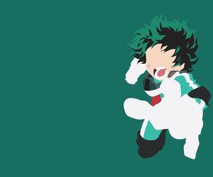 anime, minimalist, and boku no hero academia image