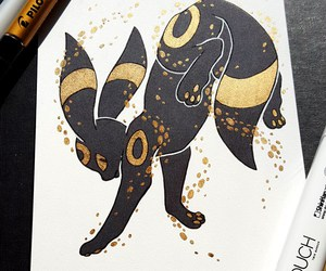 pokemon, umbreon, and eeveelution image