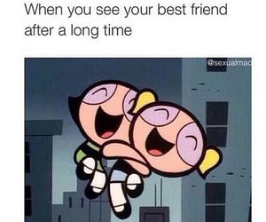 best friends, funny, and friendship image