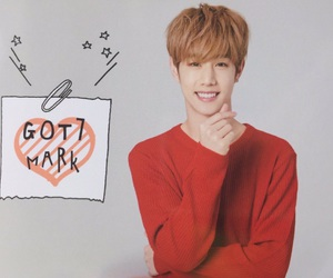 got7, mark tuan, and mark image