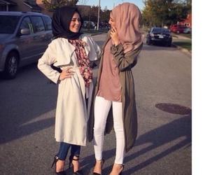 feet, hijab, and islam image