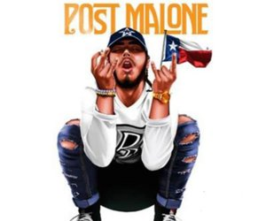 cover art, music, and post malone image