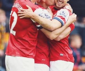 Arsenal, ramsey, and lukas podolski image