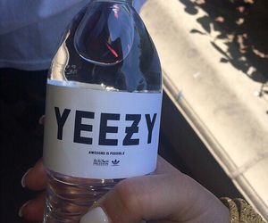 yeezy, water, and adidas image
