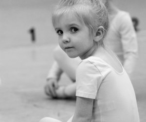 girl, ballet, and child image