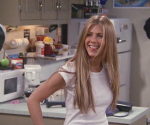 rachel green, friends, and 90s image