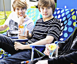 separate with comma, zack and cody, and zac and cody image