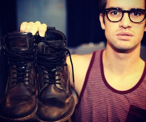 panic! at the disco, brendon urie, and patd image
