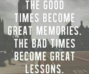 lessons, quote, and memories image