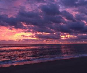 beach, beautiful, and sky image