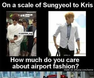 funny, exo, and kpop image