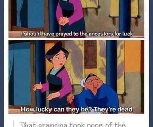 mulan, funny, and disney image