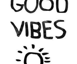 good vibes, vibes, and sun image