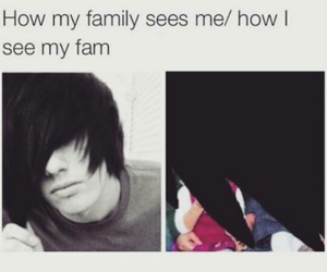 emo and funny image