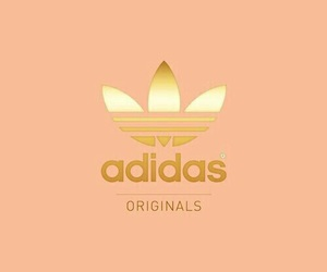 wholesale dealer 10136 85a9e adidas, wallpaper, and gold image