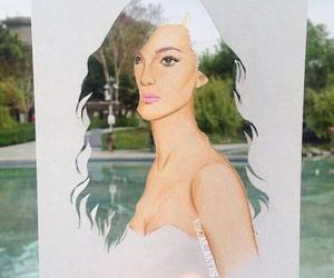 art, beautiful, and cut image